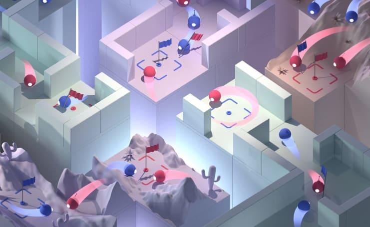 DeepMind AI uses teamwork to defeat human 'Quake III' players