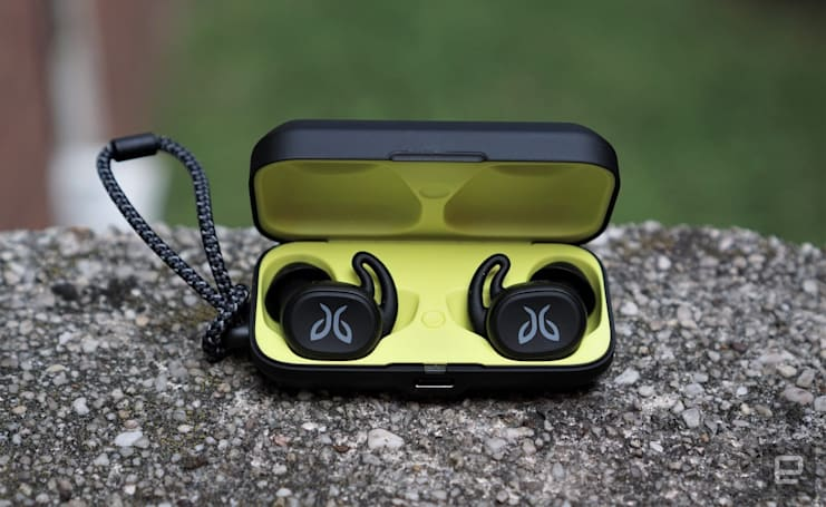 Jaybird's Vista are a sleeker pair of wireless exercise earbuds