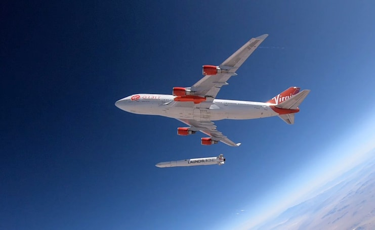 Virgin Orbit's first rocket drop test was a success