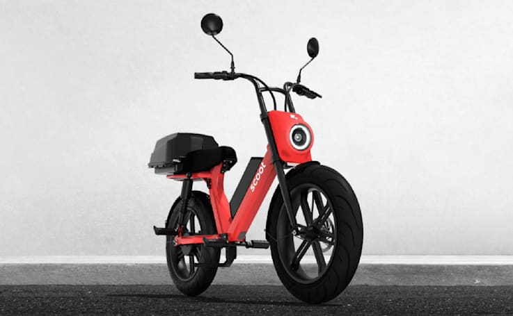 Scoot makes its new single-seat mopeds available in Los Angeles