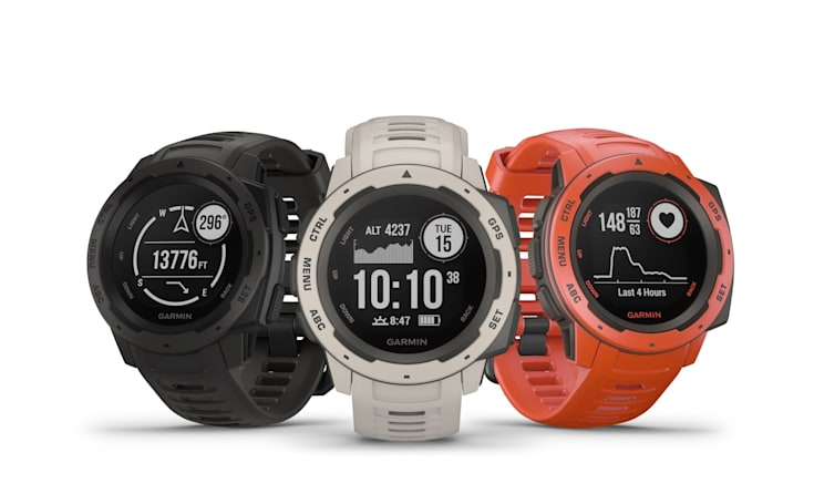 Garmin's rugged $300 smartwatch can last two weeks on a charge