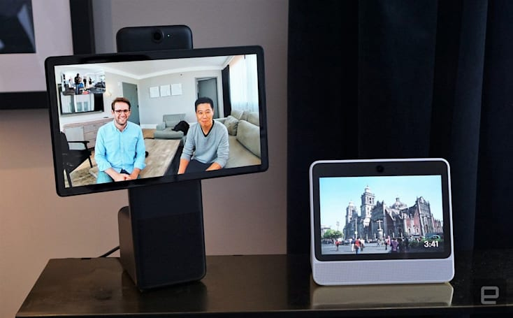 Facebook's Portal video chat displays go on sale in the US
