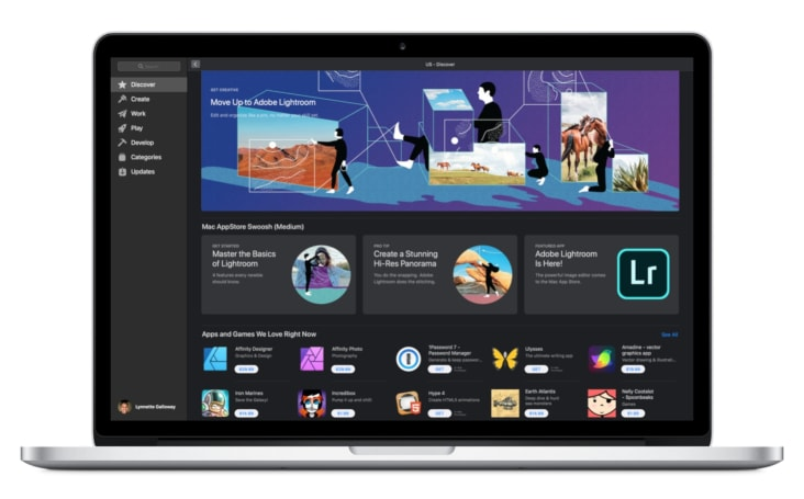 Adobe Lightroom is now on the Mac App Store