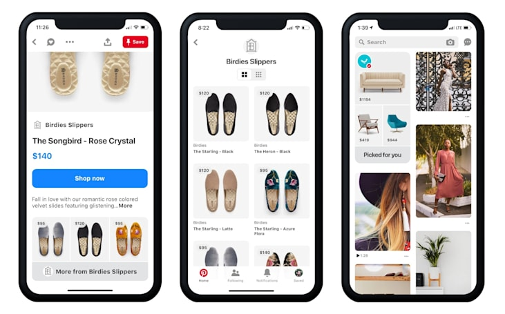 Pinterest's browsable catalogs put prices front and center