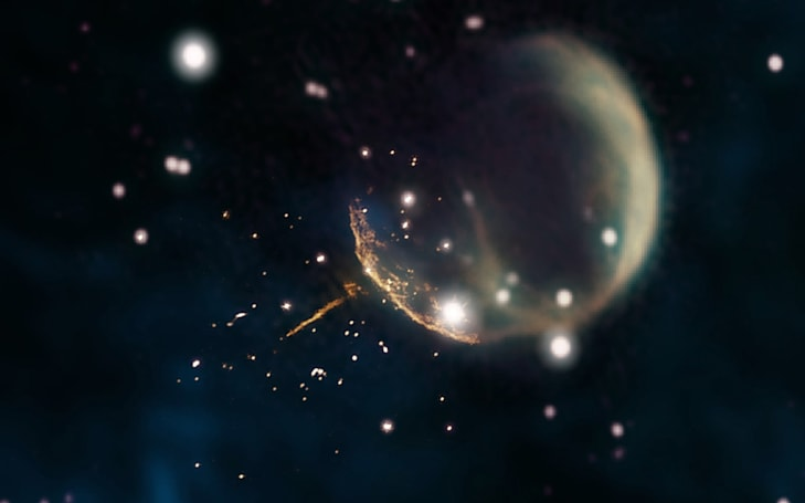 'Cannonball' pulsar points to the supernova that formed it