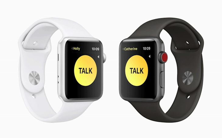 Apple disables its walkie-talkie Watch app due to vulnerability