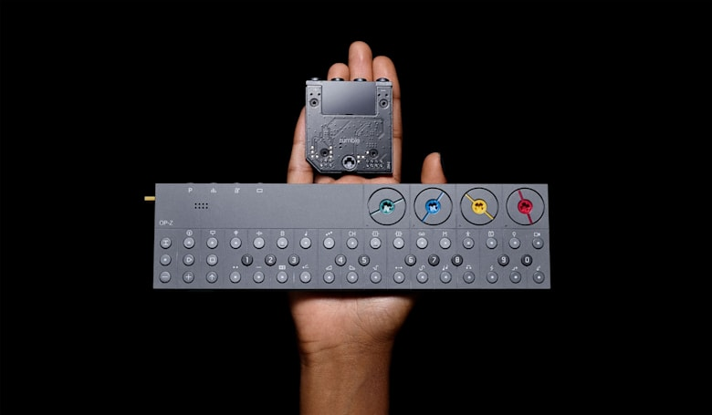 Teenage Engineering's 'rumble' module puts haptic bass in the OP-Z