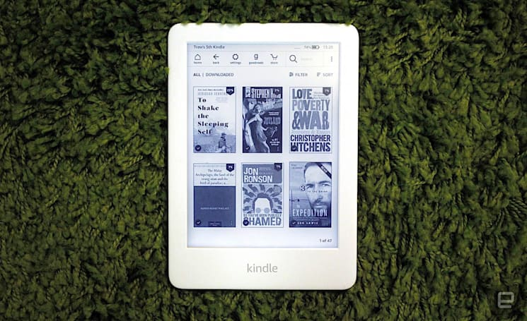 Can this year's new Kindle compete with the Paperwhite?