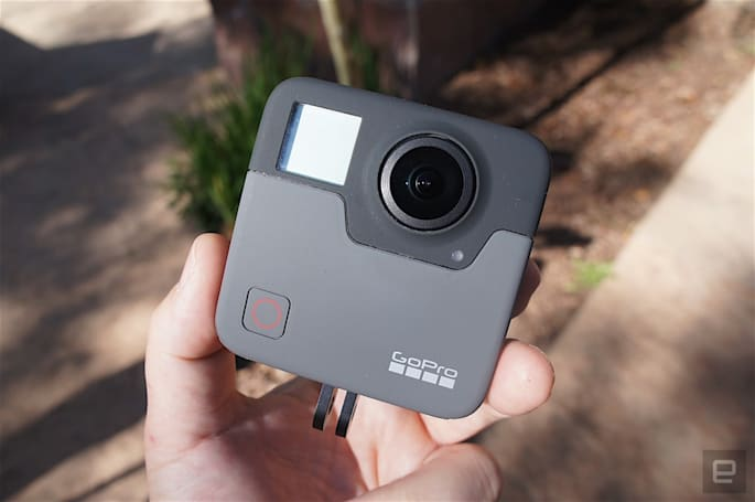 GoPro improves Fusion VR camera resolution via software update