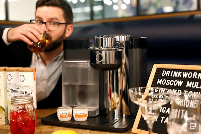 Drinkworks Home Bar is a literal Keurig for cocktails