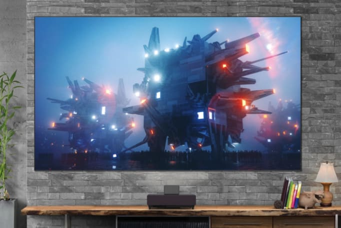 Is an ultra-short-throw projector a good substitute for a big-screen TV?