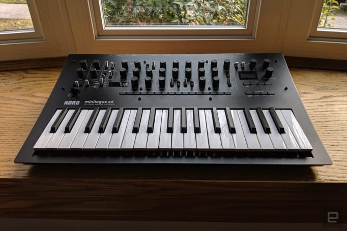 Korg Minilogue XD update adds key triggers for synth sequences