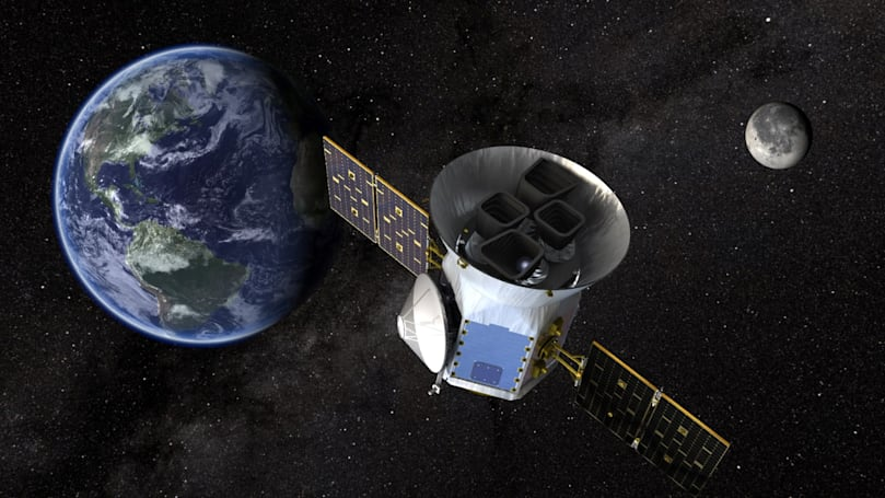 NASA's TESS spacecraft may find 1,600 new planets in the next two years