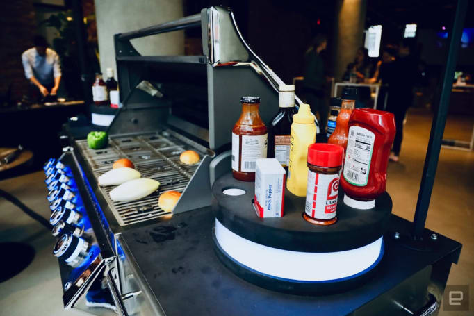McCormick's concept grill plays music based on what you're cooking