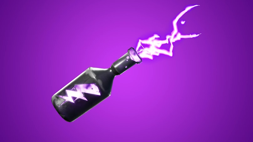 Fortnite's new weapon is a storm in a bottle