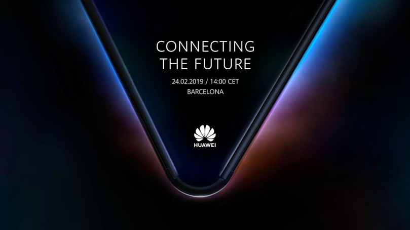 Huawei's foldable phone will be revealed on February 24th
