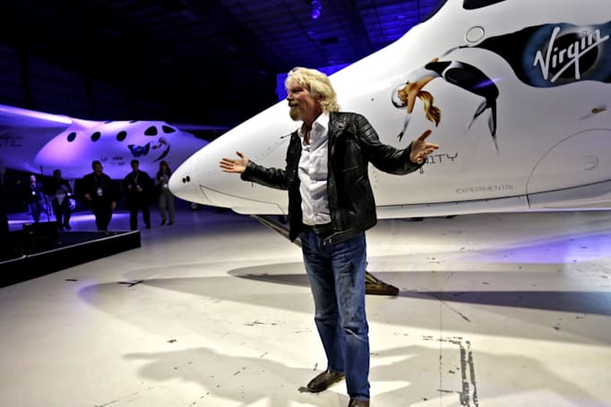Richard Branson plans to visit space in 'months'