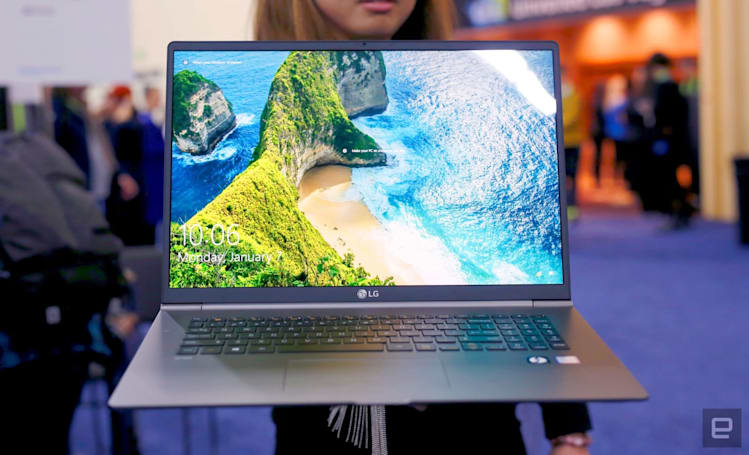 LG Gram 17 hands-on: A truly thin and light laptop for its size