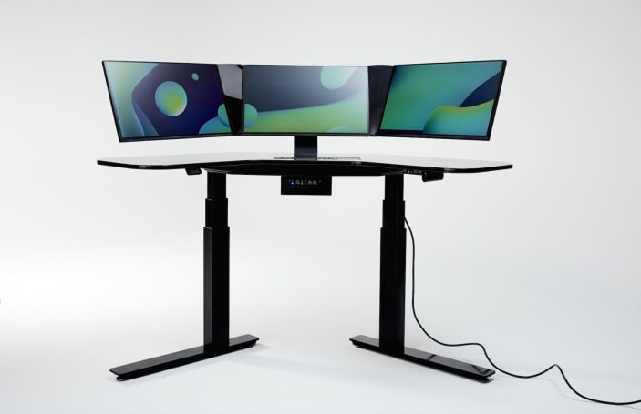This ridiculous $4,500 all-in-one PC is built into a standing desk