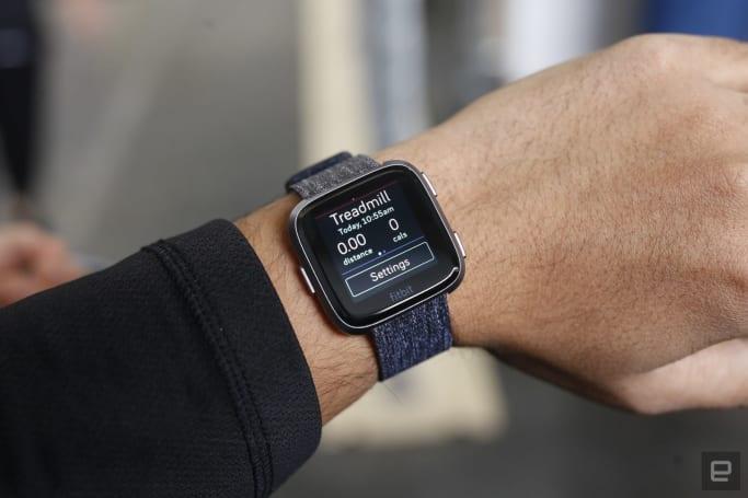 The Versa smartwatch is saving Fitbit