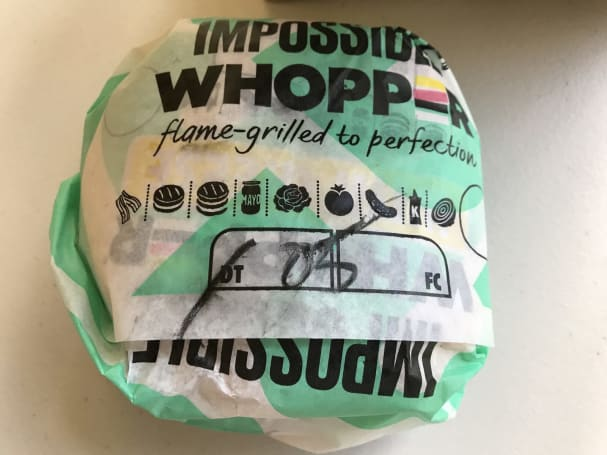 Burger King's Impossible Whopper comes to San Francisco