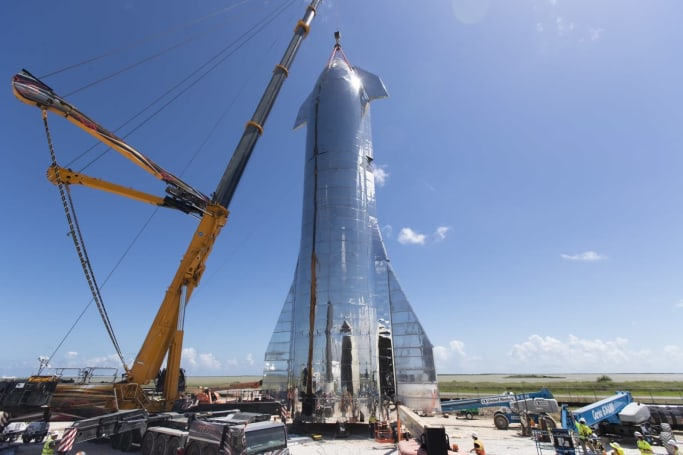 SpaceX's Starship halves come together ahead of a big event