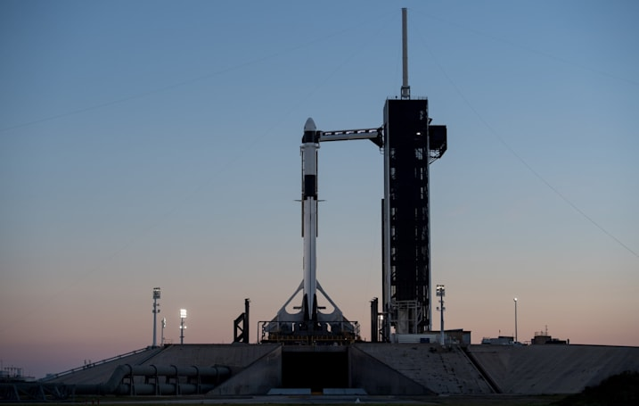 SpaceX Crew Dragon spacecraft successfully launched