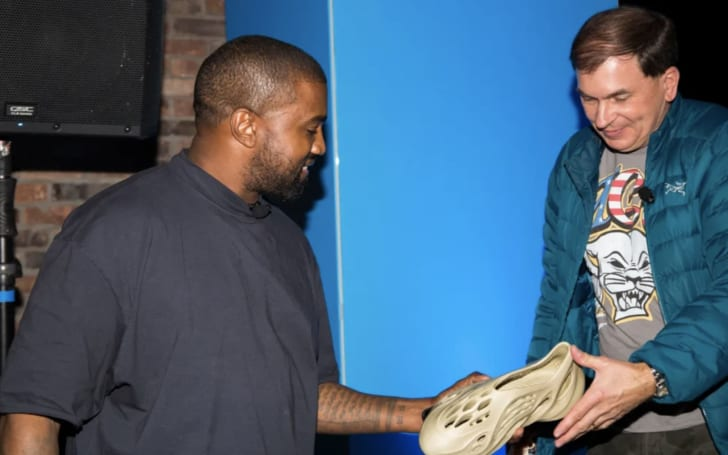 Kanye West's sustainable Yeezy concept uses algae foam
