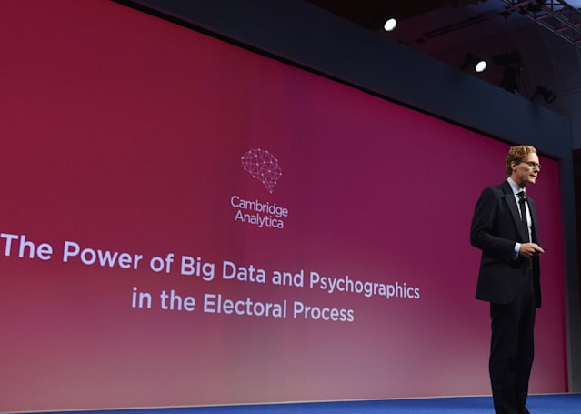 Facebook suspends Trump-linked data firm Cambridge Analytica (update: response)