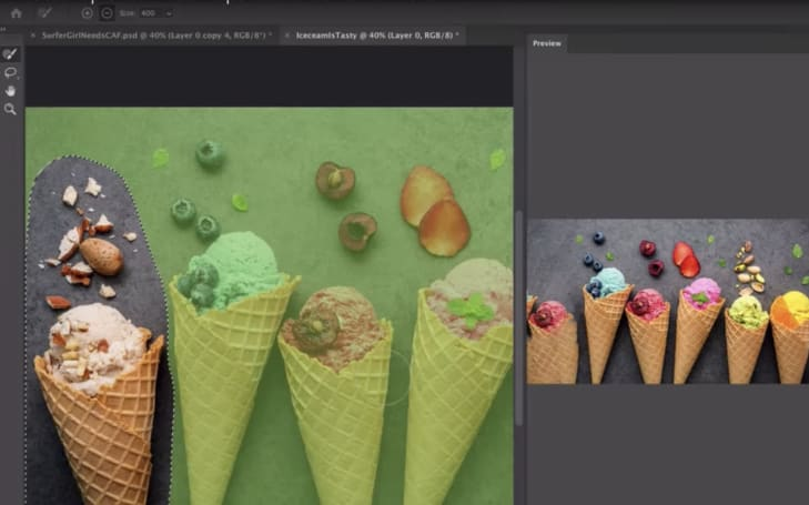 Adobe previews expanded controls for Photoshop's Content-Aware Fill