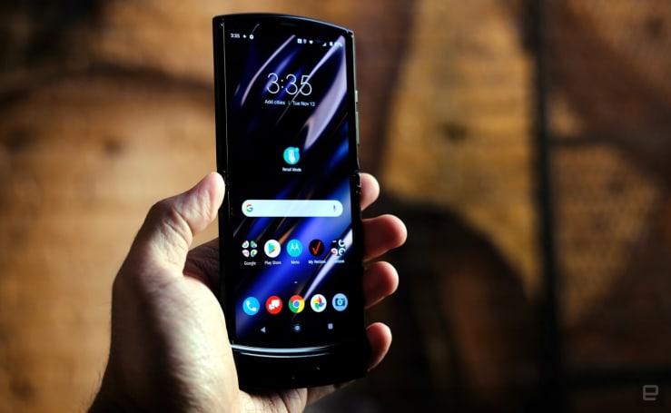 Motorola's foldable Razr delayed due to high demand