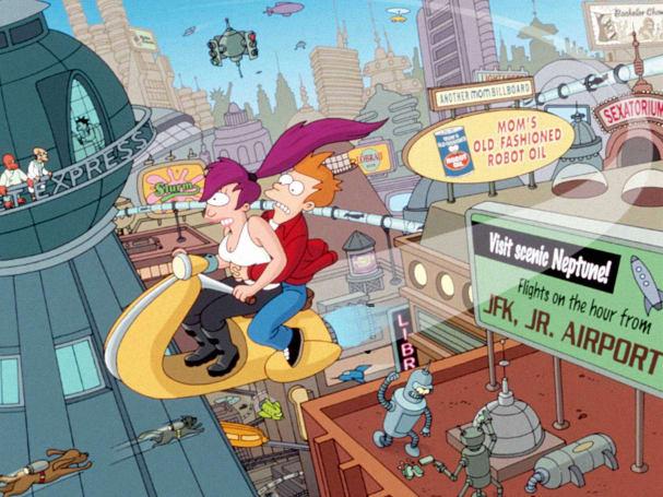 Every 'Futurama' episode hits Hulu on October 16th