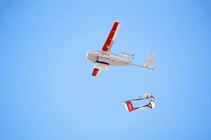 Zipline expands medical drone deliveries to Ghana