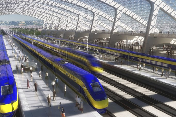 California backs down on high-speed LA-to-SF rail plan