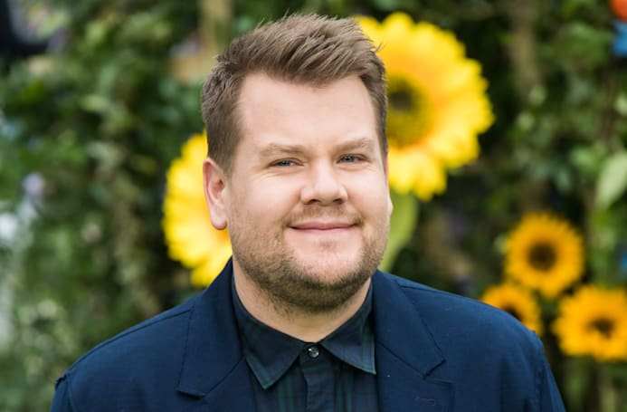 James Corden's Snapchat show premieres today