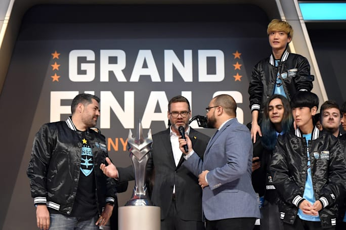 Overwatch League commissioner leaves to head competitive 'Fortnite'