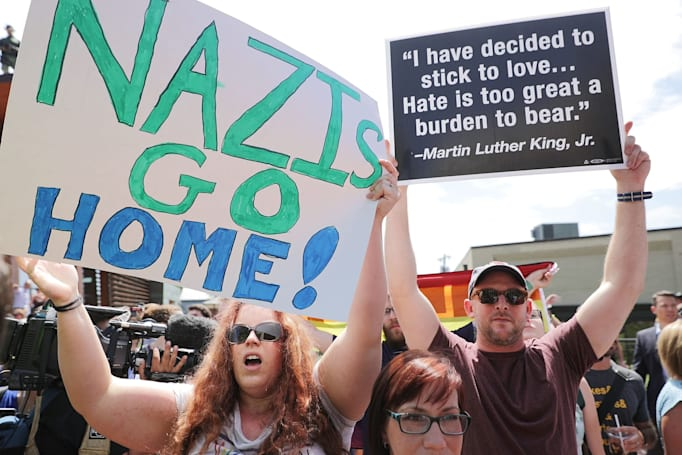 Neo-nazi website Daily Stormer briefly resurfaces with Russian domain (updated)