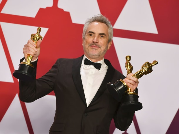 Netflix's three 'Roma' Oscar wins show streaming can rival Hollywood