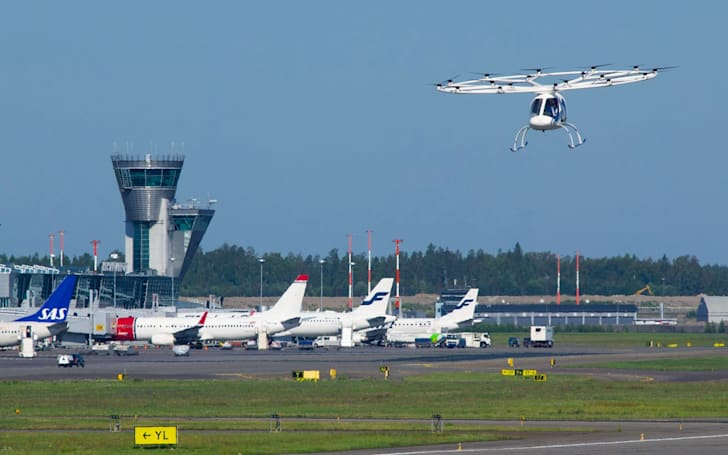 Volocopter proves its air taxi can work with air traffic control