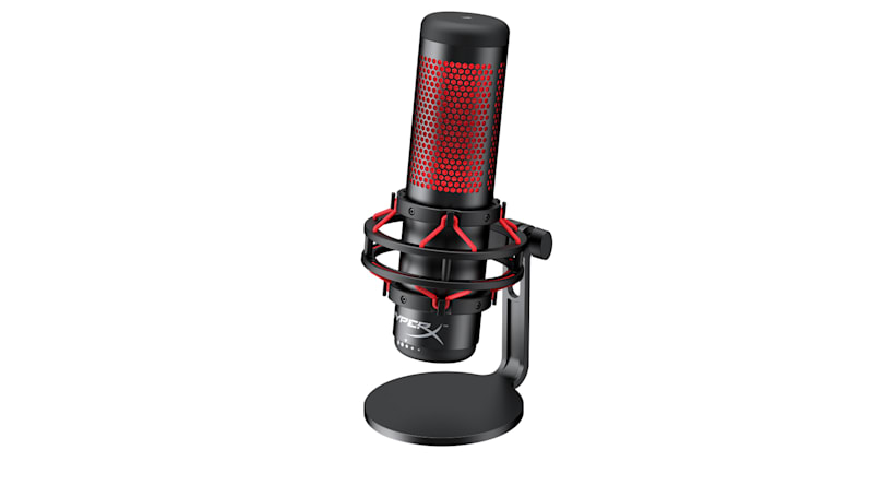 HyperX's first standalone microphone is built for game streamers