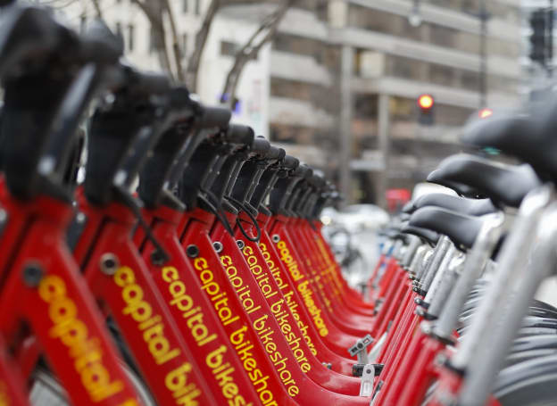 Lyft expands bike rentals to Washington DC