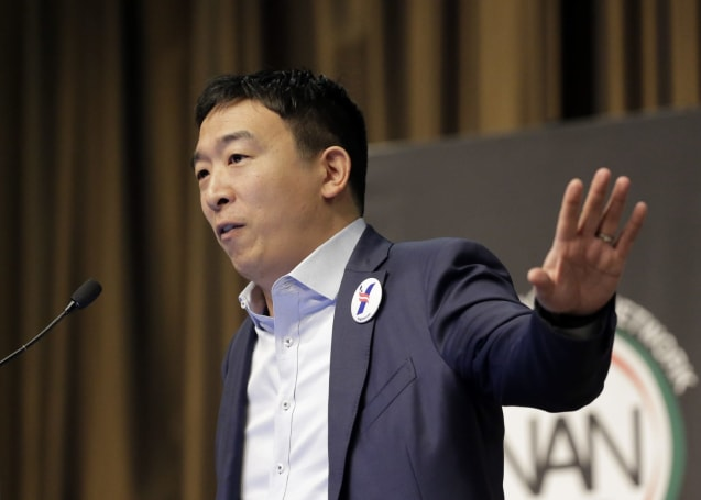 Presidential candidate Andrew Yang will use 3D holograms for remote rallies