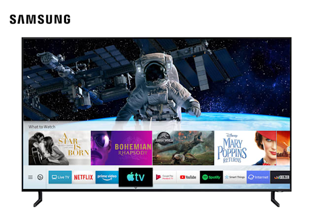 Samsung's 2019 TVs can now use Apple's updated TV app