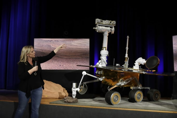 NASA starts accepting kids' name suggestions for its Mars 2020 rover