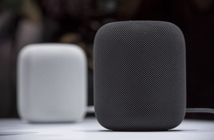 Apple's HomePod speaker needs an iOS device to work