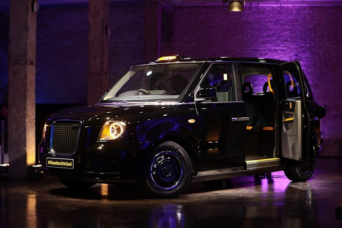 London's new electric black cabs hit the streets