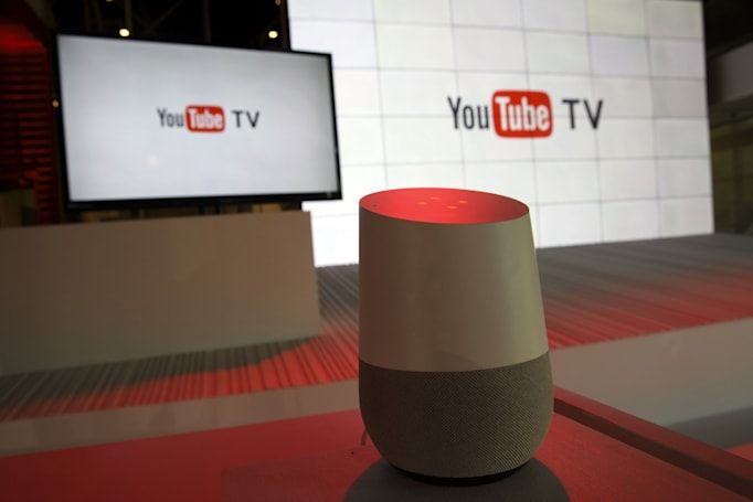 Control YouTube's live TV service with Google Home