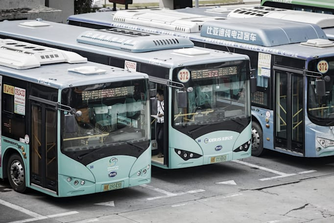 China's Shenzhen city electrifies all 16,359 of its public buses