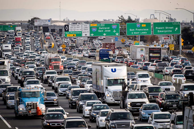 California sues EPA, NHTSA over data used for car emissions rollback