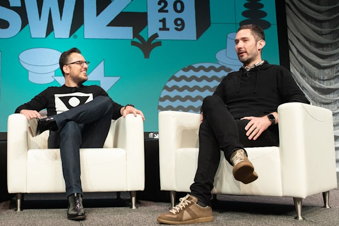 Instagram founders on Snapchat and breaking up Facebook